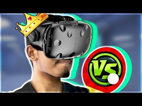 DER MEISTER VON PING-PONG? (Racket Fury – HTC Vive Virtual Reality Gameplay)
